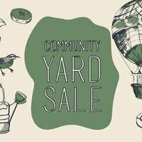 Student Activities Yard Sale & Outdoor Concert