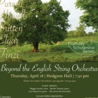 Thursday Scholarship Series: Beyond the English String Orchestra