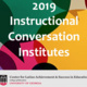 Instructional Conversation Institute - Dawsonville, GA