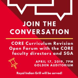 CORE Revision Open Forum