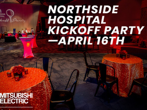 Mitsubishi Electric Classic Northside Hospital Kickoff Party
