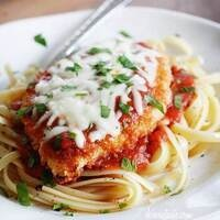 C-Cubed Luncheon - Chicken and Grilled Eggplant Parmesan