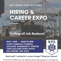 Baltimore Port Alliance Hiring & Career Expo