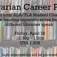 Librarian Career Panel