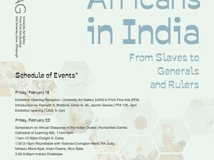 Africans in India Exhibition