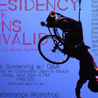 """Sins Invalid"" featuring Nomy Lamm: Film Screening w/Q&A"