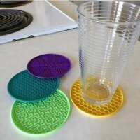 3D Printer Class: Make a coaster