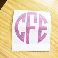 Cricut Class: Make a monogram sticker