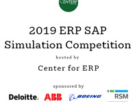 2019 ERP SAP Simulation Competition