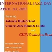 Valencia Vikings & CSUN Jazz Bands perform on International Jazz Day
