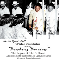 Panel | Breaking Barriers: The Legacy of John S. Chase