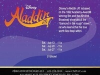 CMPAC Presents: Disney's Aladdin Jr. In The Noel S. Ruiz Theatre