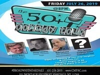 CM Performing Arts Center and AARP Present: The 50 Plus Comedy Tour in The Noel S. Ruiz Theatre
