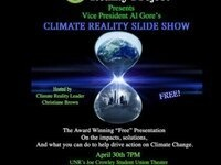 Al Gore's award Winning Climate Reality Slide Show