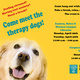 Therapy Dogs @ the Western Campus Learning Commons Library
