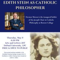 Edith Stein as Catholic Philosopher