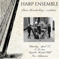Ensemble Concert Series:  TCU Harp Ensemble