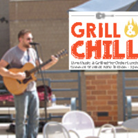Grill & Chill with Anthony Cubbage | Dining Services