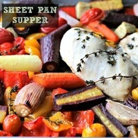 "Spoon it with Luann - Blue zones inspired Culinary class "" Super Sheet Pan Suppers"""