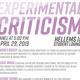 Experimental Criticism Panel