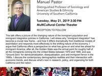 Social Sciences Dean's Lecture Series: Manuel Pastor