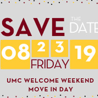 Welcome Weekend: Move-In Day