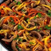 C-Cubed Luncheon - Steak and Quinoa Black Bean Fajitas