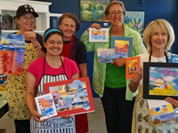 Watercolor Collage Fun Workshop