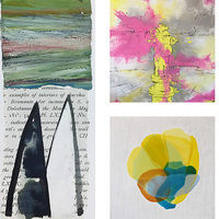 ARTIST TALK   Joan Scheibel, Gina Falcone Skelton and Farida Hughes