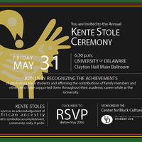 CBC's Kente Stole Ceremony
