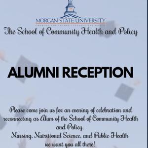 The School of Community Health & Policy Alumni Reception