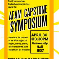 African American Studies Capstone Symposium