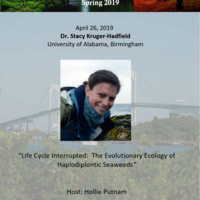 """BES Seminar: """"Life Cycle Interrupted: The Evolutionary Ecology of Haplodiplontic Seaweeds"""""""