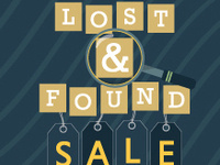Lost & Found Sale