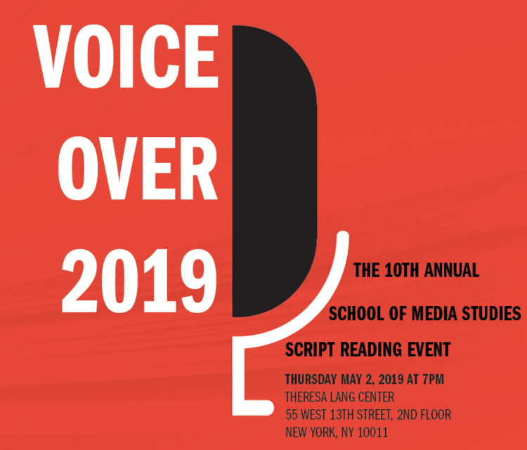 2019 Voice/Over | Not your ordinary script reading event