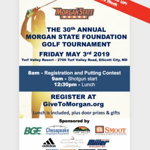 Morgan State University Foundation's 30th Annual Golf Tournament