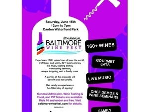 5th ANNUAL BALTIMORE WINE FESTIVAL