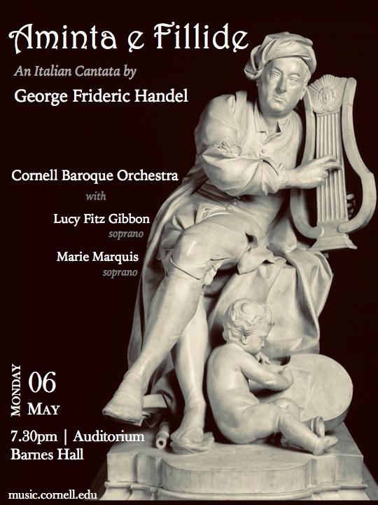 Baroque Orchestra performs Handel's Aminta e Fillide: CU Music