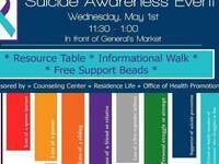Suicide Awareness Event