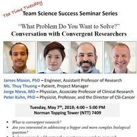 """What Problem Do You Want to Solve?"" Conversation with Convergent Researchers"