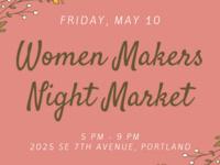 Women Makers Night Market
