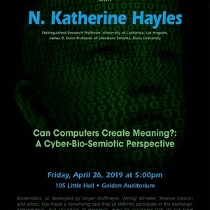 Film and Media Studies: ANNUAL NEW MEDIA LECTURE