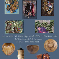 """Contemplations in Clay"" and ""Ornamental Turnings and Other Wooden Bits"""