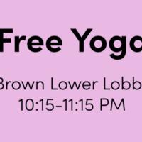 De-Stress Week: Free Yoga
