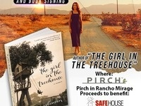 SafeHouse of the Desert Mix & Mingle Fundraiser featuring Jennifer Asbenson, Author of The Girl in the Treehouse