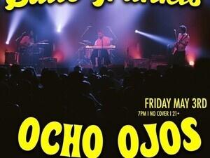 Baile Trankis with Ocho Ojos! DJ Gallo Negro! No Cover!
