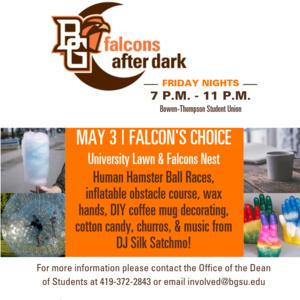 Falcons After Dark: Falcon's Choice