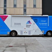 Mobile Mammography Van/Mamografía Móvil: Hispanic Federation Health Fair