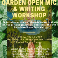Writing Workshop @ RCC Garden!