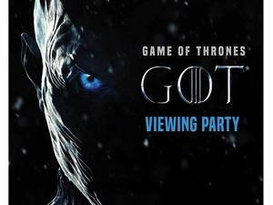 Game of Thrones Viewing Party